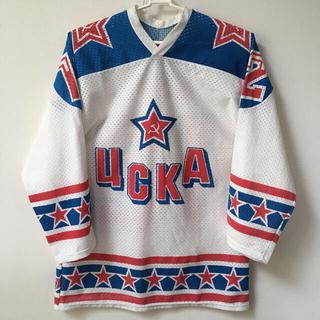 Pavel Bure(NHL)『ロシア CSKA ジャージ』レア品【中古】(ウインタースポーツ)