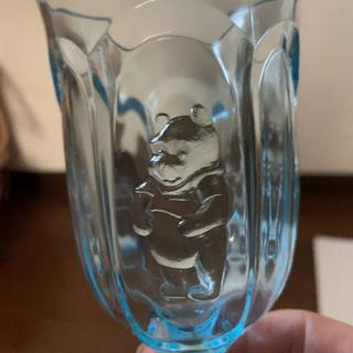 クマノプーサン(くまのプーさん)のプーさんベアグラス(グラス/カップ)