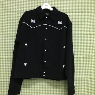 Needles - Needles 20AW パピヨン刺繍シャツトラックジャケット