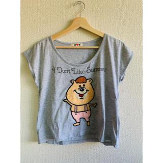 ダブルシー(wc)のW♡C  グレートップス クマたん 初期 レア(Tシャツ(半袖/袖なし))