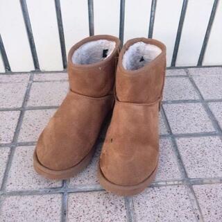 ギャルスター(GALSTAR)のGALSTAR購入♡Richファーふんわりソールムートンブーツ♡キャメルS♡(ブーツ)