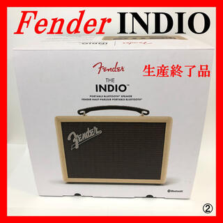 フェンダー(Fender)のFender INDIO BLUETOOTH SPEAKER BLONDE (スピーカー)