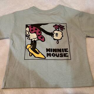Disney - しまむら レトロミッキー ディズニー ミッキー ミニー Tシャツ