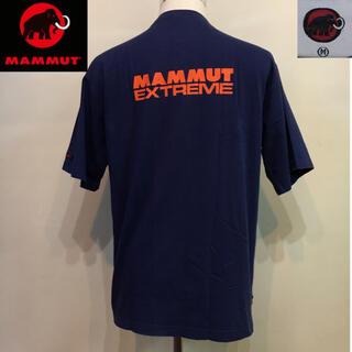 Mammut - MAMMUT マムート◆Tシャツ TEE ポルトガル製 ネイビー Mサイズ