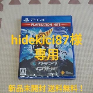 プレイステーション4(PlayStation4)の新品未開封 PS4 ラチェット&クランクTHE GAME(家庭用ゲームソフト)