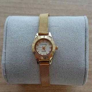 dholic - DHOLIC ゴールド 腕時計
