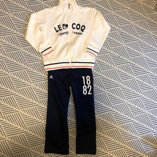 ルコックスポルティフ(le coq sportif)のルコック   ジャージ上下 セットアップ ガールズ130/120(その他)