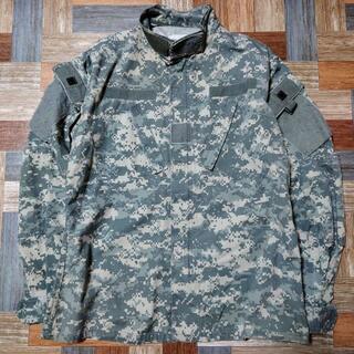 オクトパスアーミー(OCTOPUS ARMY)のUS ARMY ACU BDU ジャケット デジカモ グレー(ミリタリージャケット)