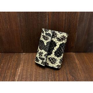 【金運アップに!】珍しいアナコンダ使用のカードサイズミニ財布(財布)