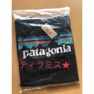 patagonia - 新品 patagonia パタゴニア 長袖ロンT P-6LOGO ブラック M