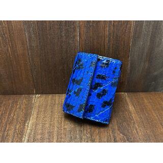 【金運アップに!】珍しいアナコンダ使用のカードサイズミニ財布 (財布)