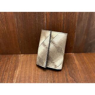 【金運アップに!】エラブウミヘビ使用のカードサイズミニ財布(財布)