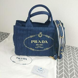 PRADA - PRADA プラダ カナパ ミニ 2WAY ショッピングバッグ バッグ ハンドバ