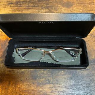 ジンズ(JINS)のALOOK 眼鏡(サングラス/メガネ)