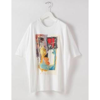 スティーブンアラン(steven alan)のSteven Alan<Partizan25>J.DRAW A TEE サイズ3(Tシャツ/カットソー(半袖/袖なし))