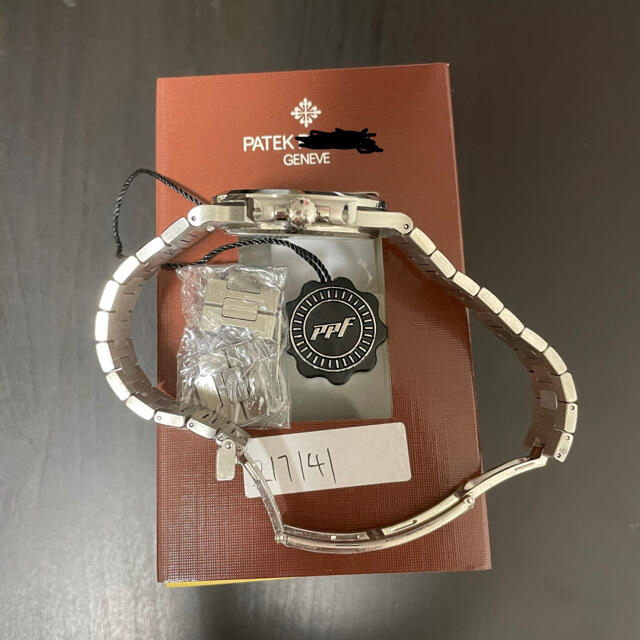 PPF バッジ 5711 V4 ノーチラス用 おまけ付き メンズの時計(その他)の商品写真
