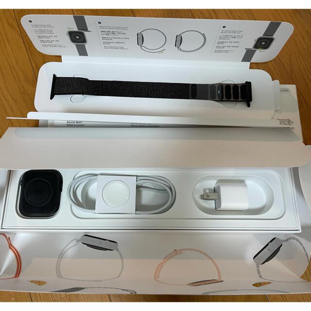 Apple Watch(アップルウォッチ)のApple Watch Series4(44mm) スペースグレイ(スポーツ) メンズの時計(腕時計(デジタル))の商品写真