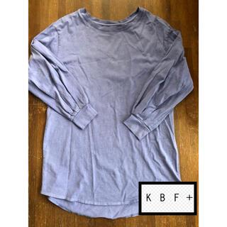 ケービーエフプラス(KBF+)のkbf+ トップス(Tシャツ(長袖/七分))