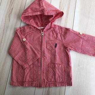 ムージョンジョン(mou jon jon)のムージョンジョン 綺麗 ウィンドブレーカー 丸高衣料 ジャンパー パーカー 80(ジャケット/上着)