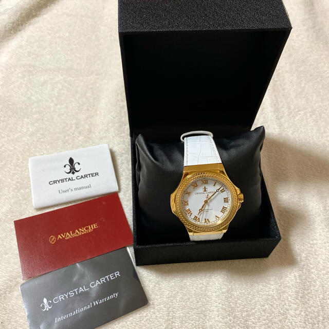 AVALANCHE(アヴァランチ)のアヴァランチ クリスタルカーター 腕時計 メンズの時計(腕時計(アナログ))の商品写真