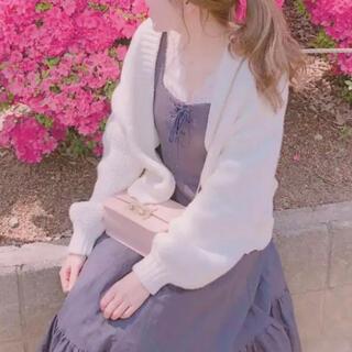 Lily Brown - 裾ボリュームワンピース リリーブラウン