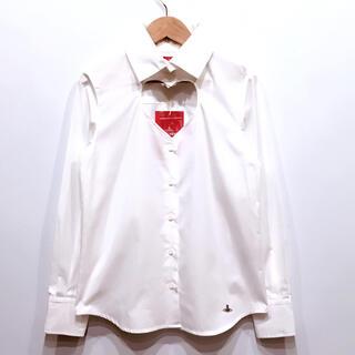 Vivienne Westwood - 新品タグ付き ヴィヴィアンウエストウッド ラブ ハート ブロード シャツ