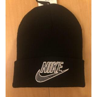ナイキ(NIKE)のNIKE × supreme ニットキャップ(ニット帽/ビーニー)
