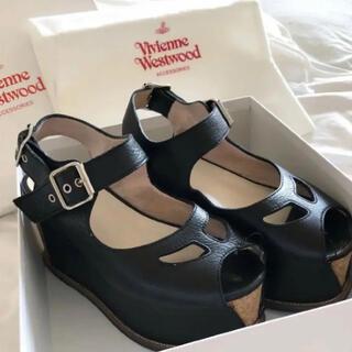 Vivienne Westwood - Vivienne Westwood コルク サンダル 厚底