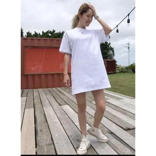 ナイキ(NIKE)の新品 NIKE ナイキ Tシャツ ドレス ワンピース(ミニワンピース)