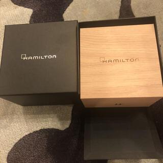 ハミルトン(Hamilton)の新品未使用 スイス時計 ハミルトン専用ボックス 送料込(腕時計(アナログ))