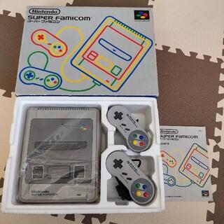 スーパーファミコン - スーパーファミコン SFC 本体 当時物 SHVC-001