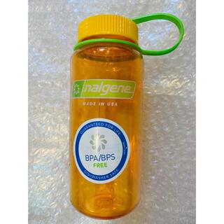 ナルゲン(Nalgene)のナルゲン ワイドマウスボトル 500ml  クレメンタイン 新品未使用(登山用品)