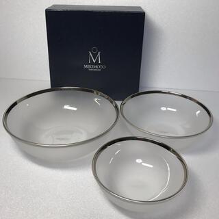 ミキモト(MIKIMOTO)の[新品 未使用] MIKIMOTO ガラスボウル(食器)