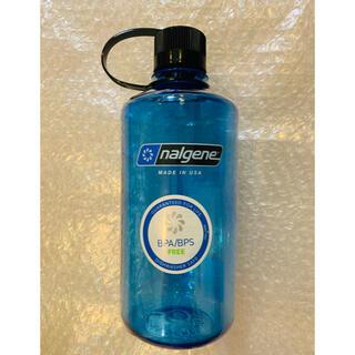 ナルゲン(Nalgene)のナルゲン ナローマウスボトル 1ℓ ブルー 新品未使用(登山用品)