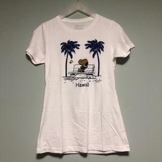 ピーナッツ(PEANUTS)のPEANUTS ハワイ 日焼けスヌーピーTシャツ(Tシャツ(半袖/袖なし))
