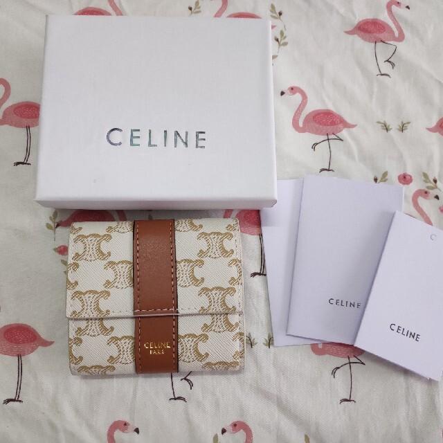 celine(セリーヌ)のCeline♡さいふ セリーヌ 小銭入れ コイン入れ レディースのファッション小物(名刺入れ/定期入れ)の商品写真