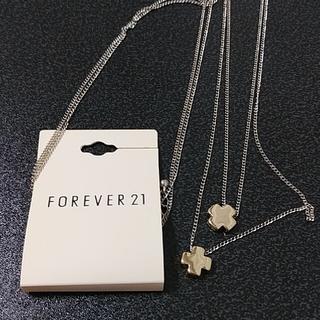 フォーエバートゥエンティーワン(FOREVER 21)のforever21 ネックレス(ネックレス)