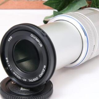 OLYMPUS - 【新品級】 OLYMPUS M.ZUIKO ED 40-150mm 望遠レンズ