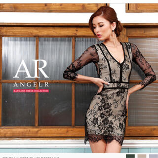 エンジェルアール(AngelR)のエンジェルR 新品ドレス 定価22000円(ひざ丈ワンピース)