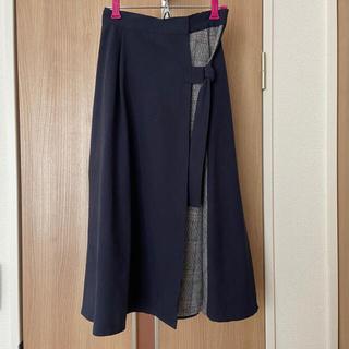 ダブルクローゼット(w closet)のw closet ロングスカート(ロングスカート)