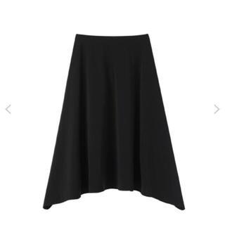 エムプルミエ(M-premier)の【新品未使用】M-PREMIER m's select 黒 スカート(ひざ丈スカート)