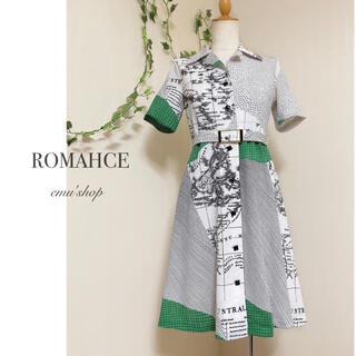 Grimoire - ROMAHCE ◆ ヴィンテージ ワンピース ◆ レトロ モダン