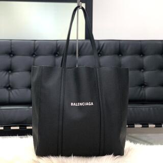 Balenciaga - 超美品 バレンシアガ カーフスキン エブリデイ スモール トートバッグ 黒