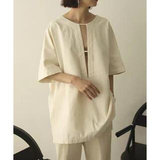 TODAYFUL - cotton pique blouse