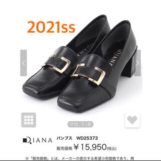 DIANA - 新作2021ss ダイアナ ローヒールパンプス