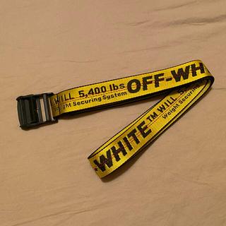 オフホワイト(OFF-WHITE)のオフホワイト インダストリアルベルト(ベルト)