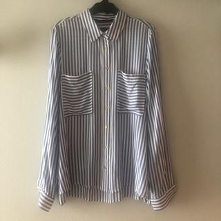 ザラ(ZARA)のZARAストライプシャツ(シャツ)