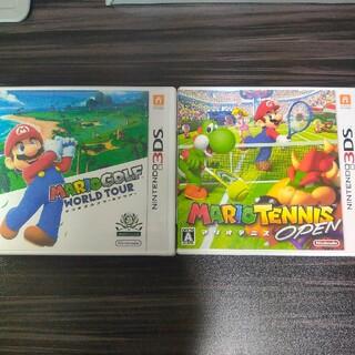 ニンテンドー3DS(ニンテンドー3DS)の3DS マリオゴルフ マリオテニス(携帯用ゲームソフト)