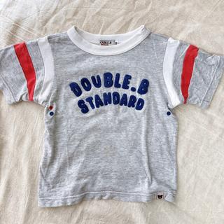 DOUBLE.B - DOUBLE.B  ミキハウス 100cm   半袖 Tシャツ