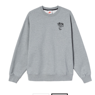 "STUSSY - Nike x Stussy Crewneck Sweatshirt ""Grey"""